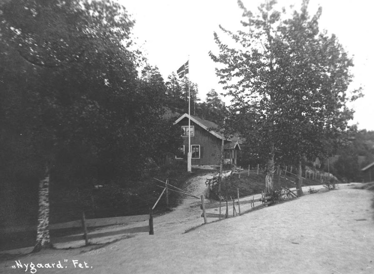 Nygård i Øvredalen ligger ved Hølandsvegen.