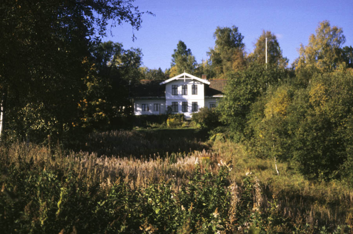 Hovedbygningen på Haneborg gård, Fjellhamar.