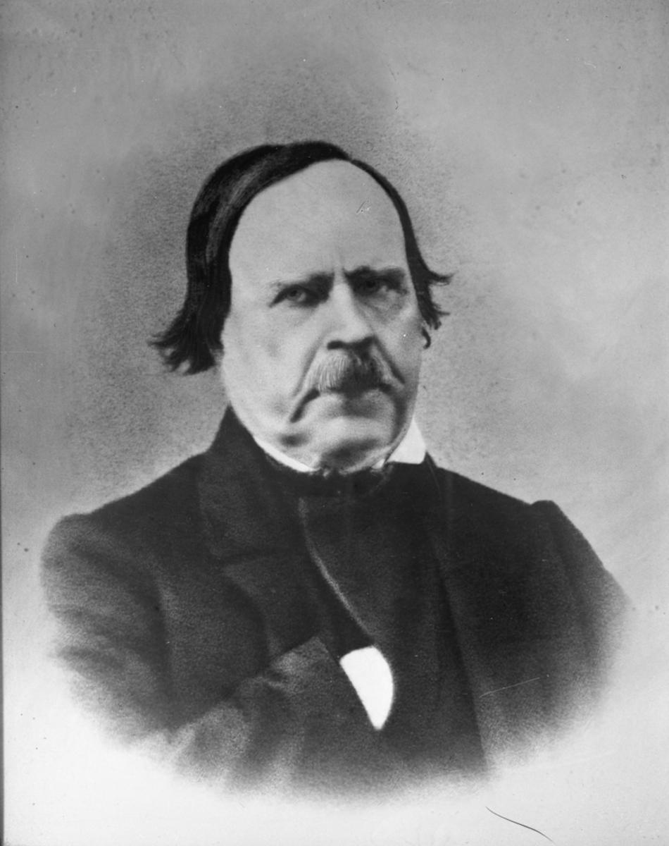 Th Stenberg, ordfører 1856 – 1859, 9. des 1865 – 15. sept. 1866.