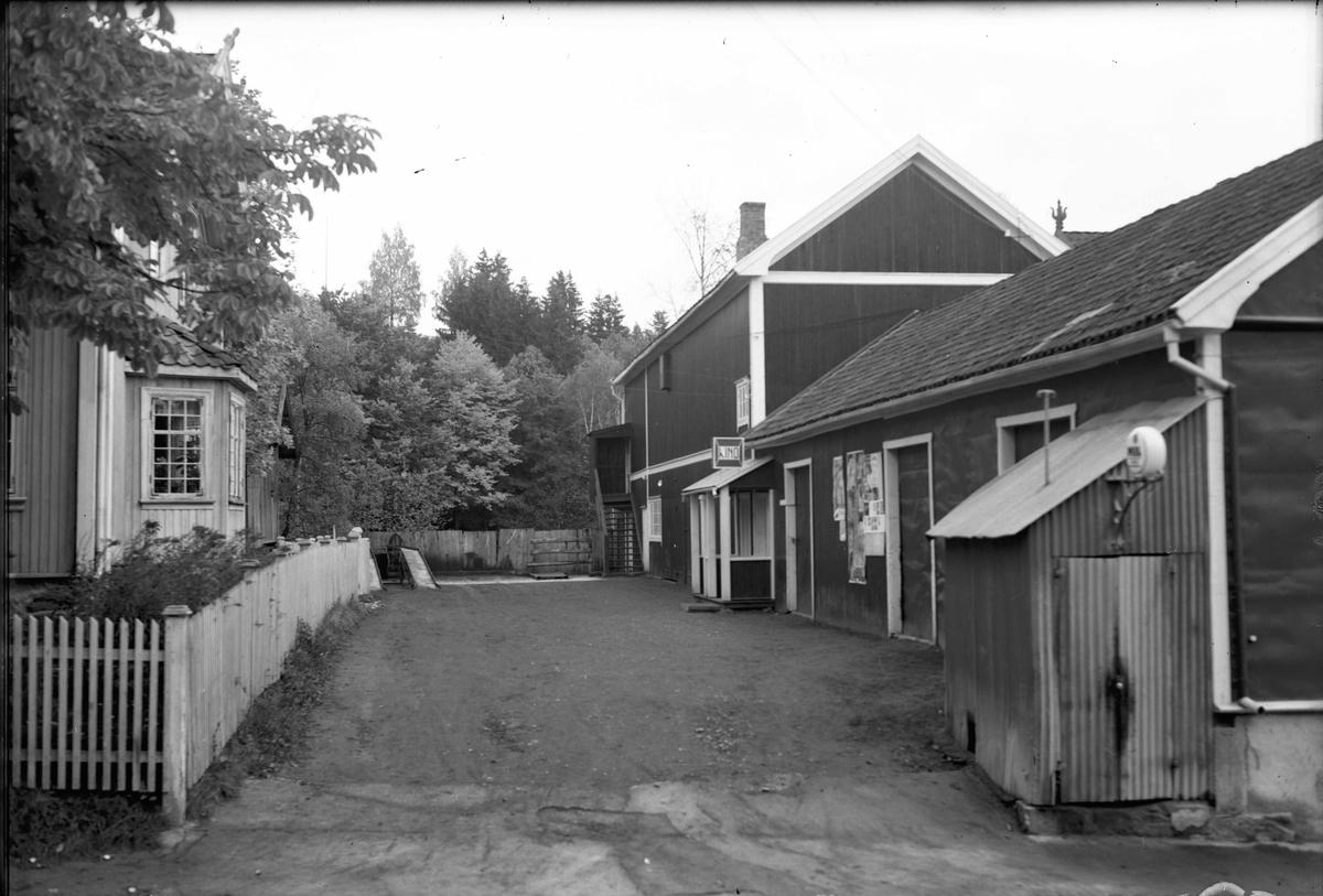 Inngangen til gamle Panorama kino.