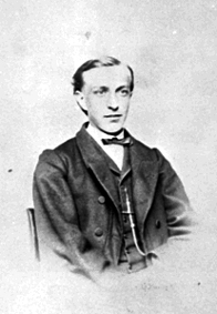 PORTRETT: HANS HOMMELSTAD FØDT: 1851, LOVISENBERG