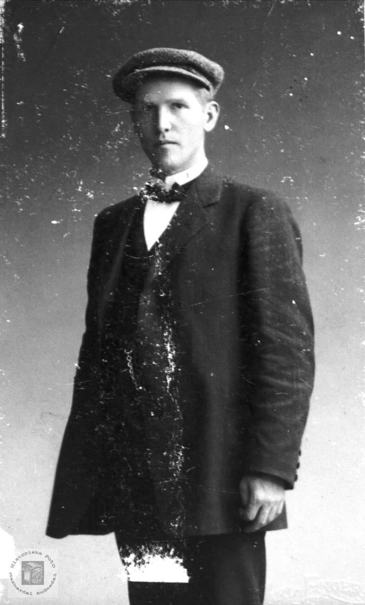 Portrett av Albert Breilid, Bjelland.