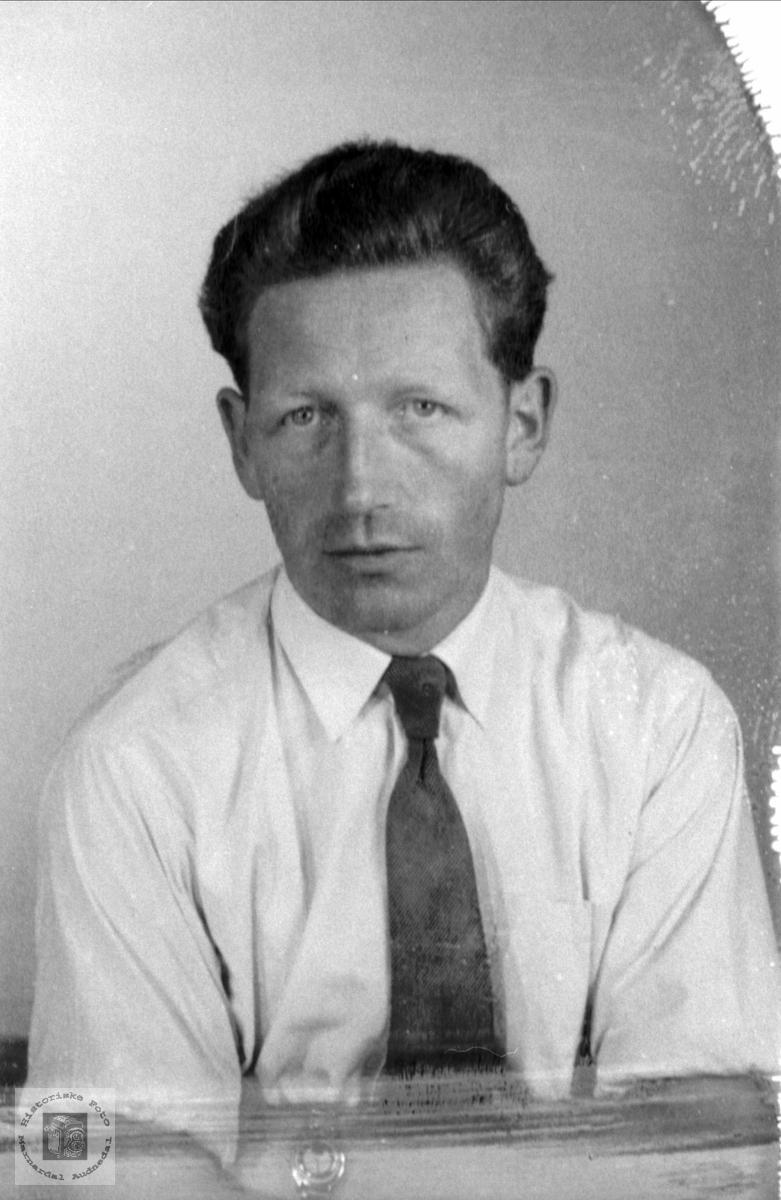 Portrett av Olav Åsan, Bjelland.