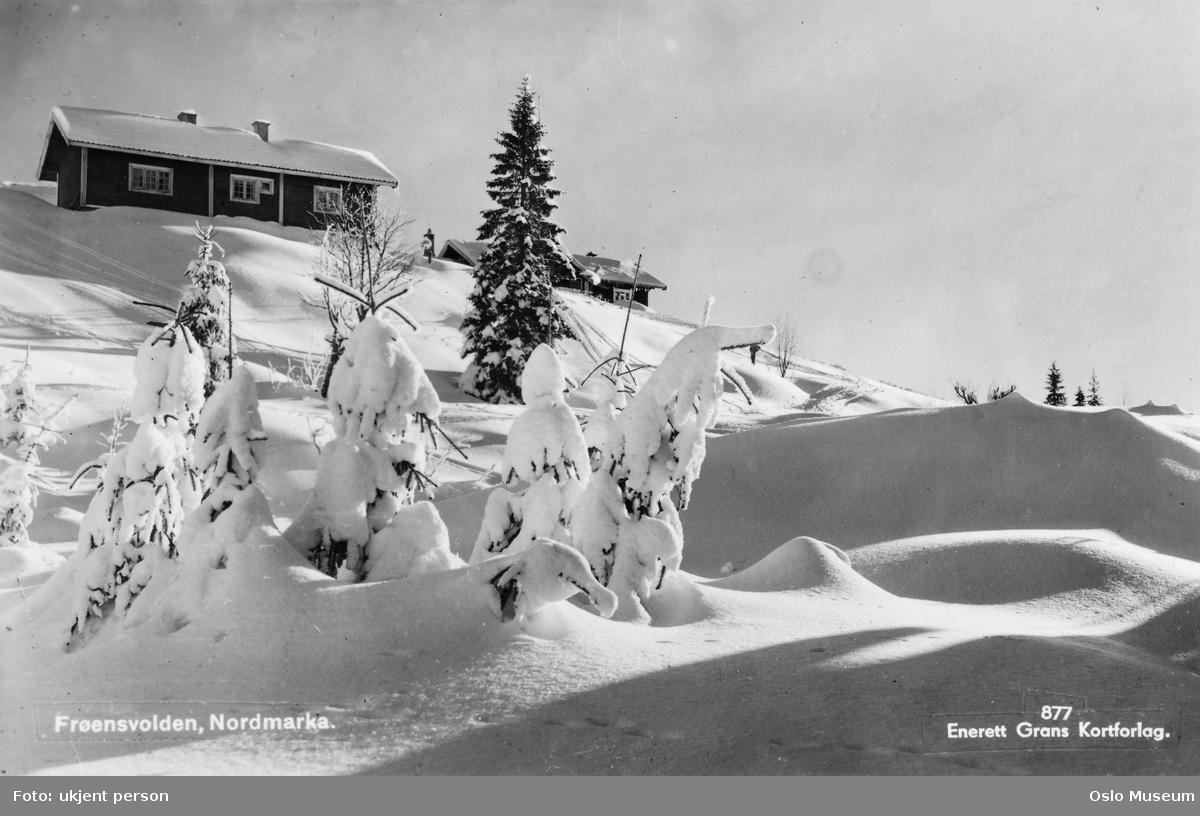 husmannsplass, snø