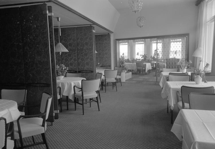"""Lysekil. Matsal, Hotell Lysekil. 1952"""