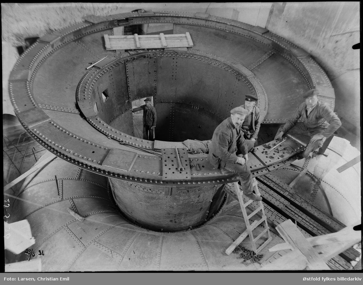 Ukjent fabrikkinteriør,-1936.