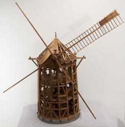Väderkvarn, modell