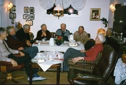 På garden Øvre Bakke, 83.6, i Hemsedal sist på 1990-talet. H