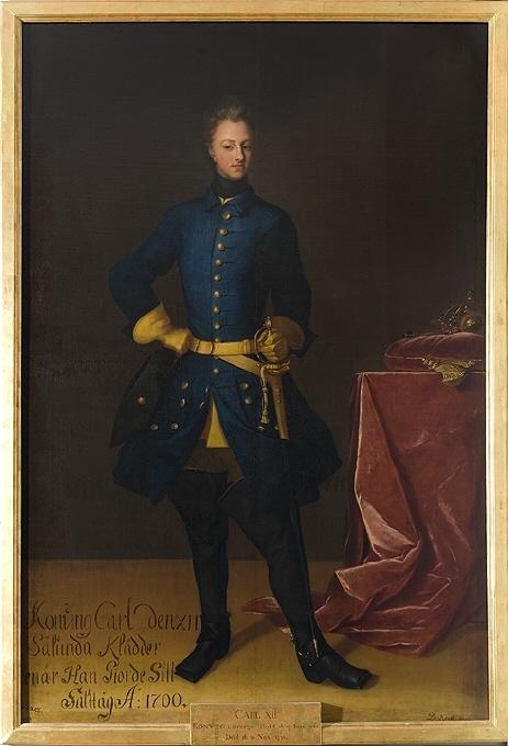 Karl XII, 1682-1718, kung av Sverige, pfalzgreve av Zweibrücken