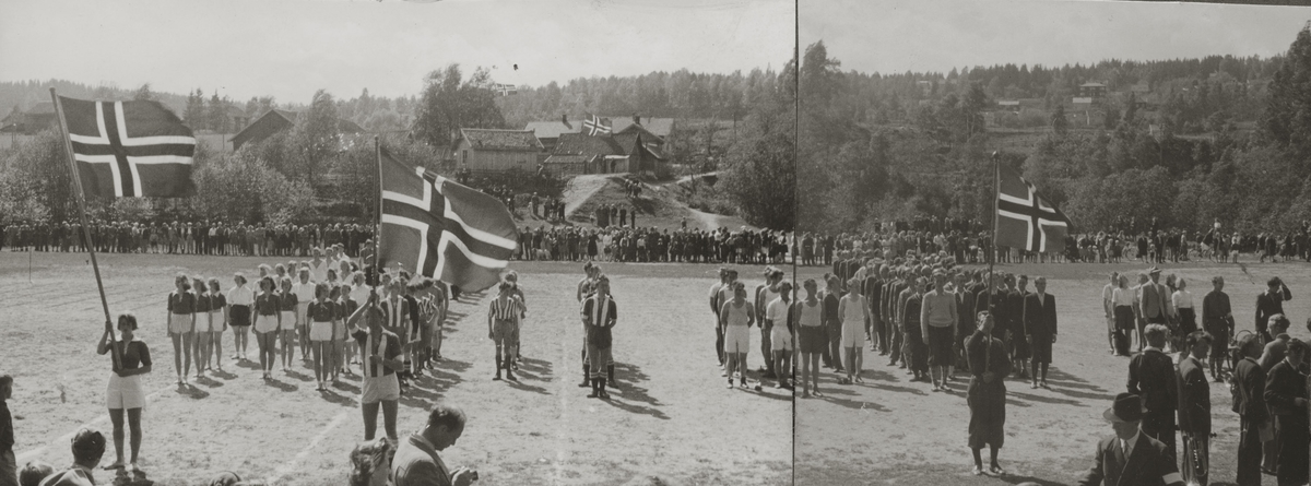 Fotballag i Nittedal IL Idrettens Dag