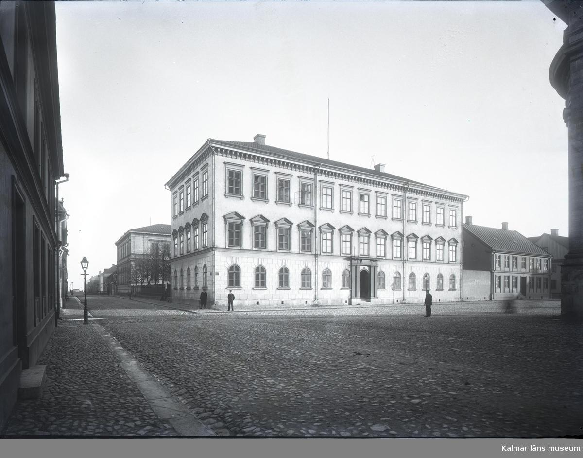 Gamla läroverket, numera stadshuset, i Kalmar.