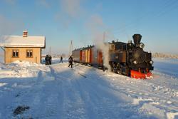Julekjøring på museumsjernbanen Urskog-Hølandsbanen, Tertitt
