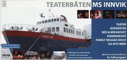 Teaterbåten MS Innvik