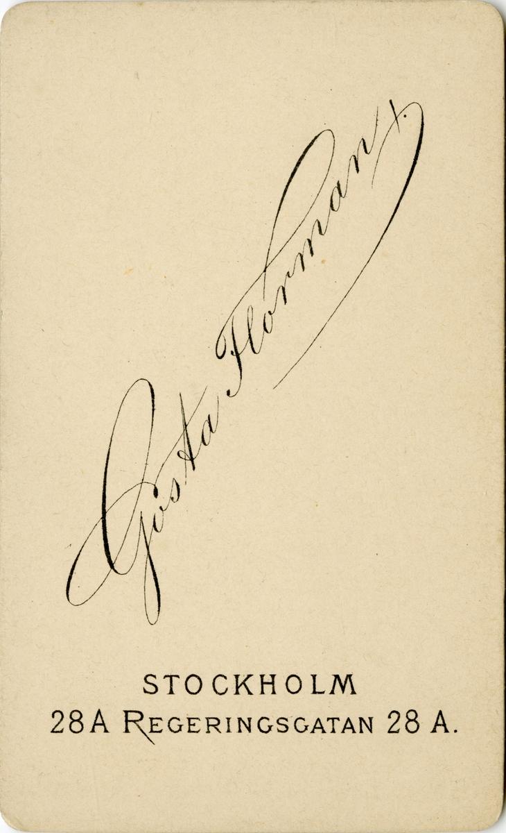 Porträtt av Nicolaus Bernhard Mannerhjerta, officer vid Första livgrenadjärregementet I 4. Se även bild AMA.0009590.