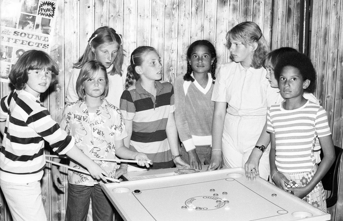 Ungdomsklubb på Løvenstad ca 1981