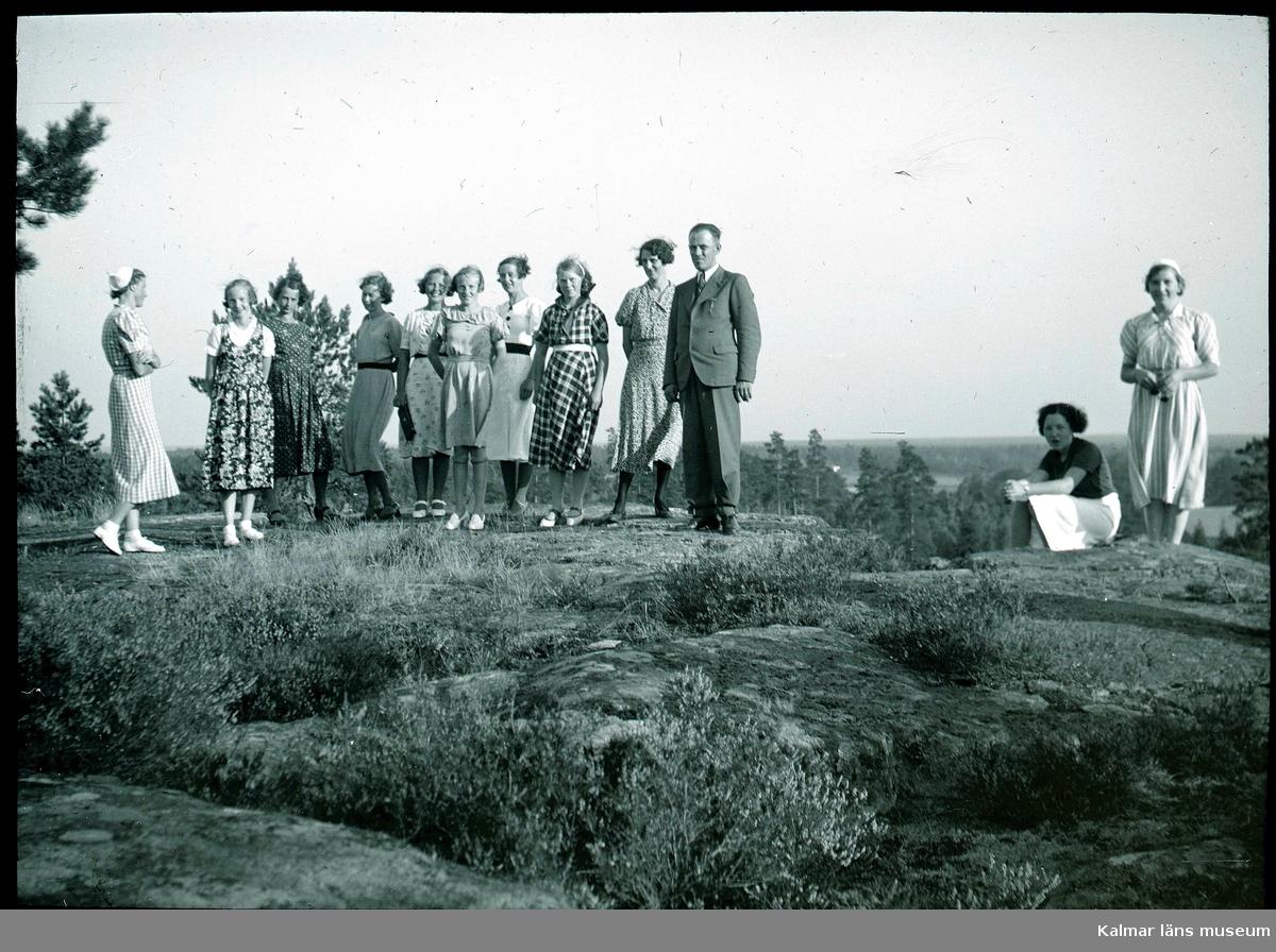 Ungdomskretsen vid Tranehäll 1938.