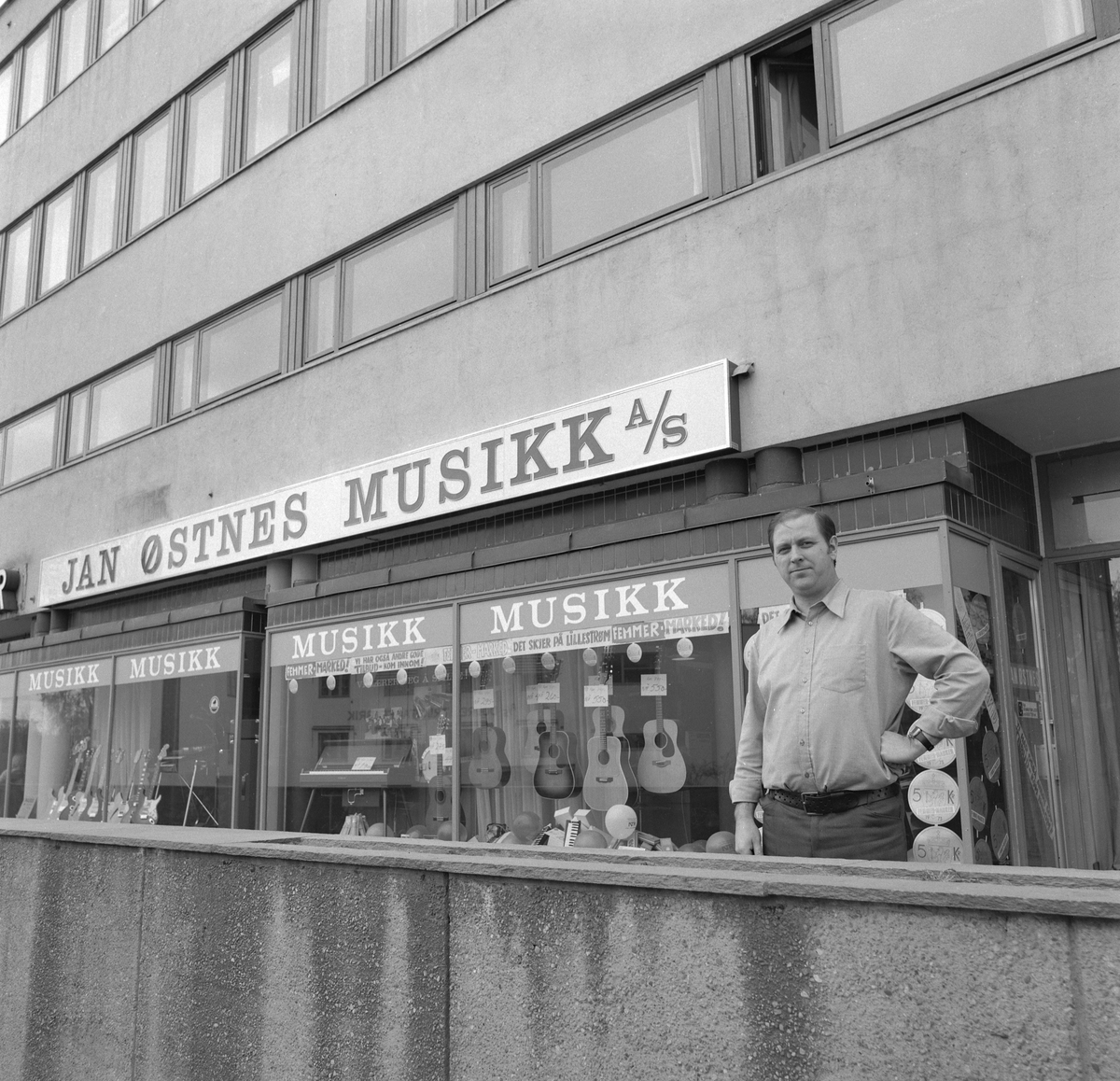 Jan Østnes Musikk i Lillestrøm