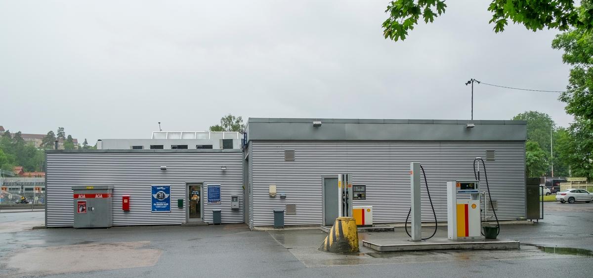 Shell bensinstasjon Drammensveien Høvik Bærum