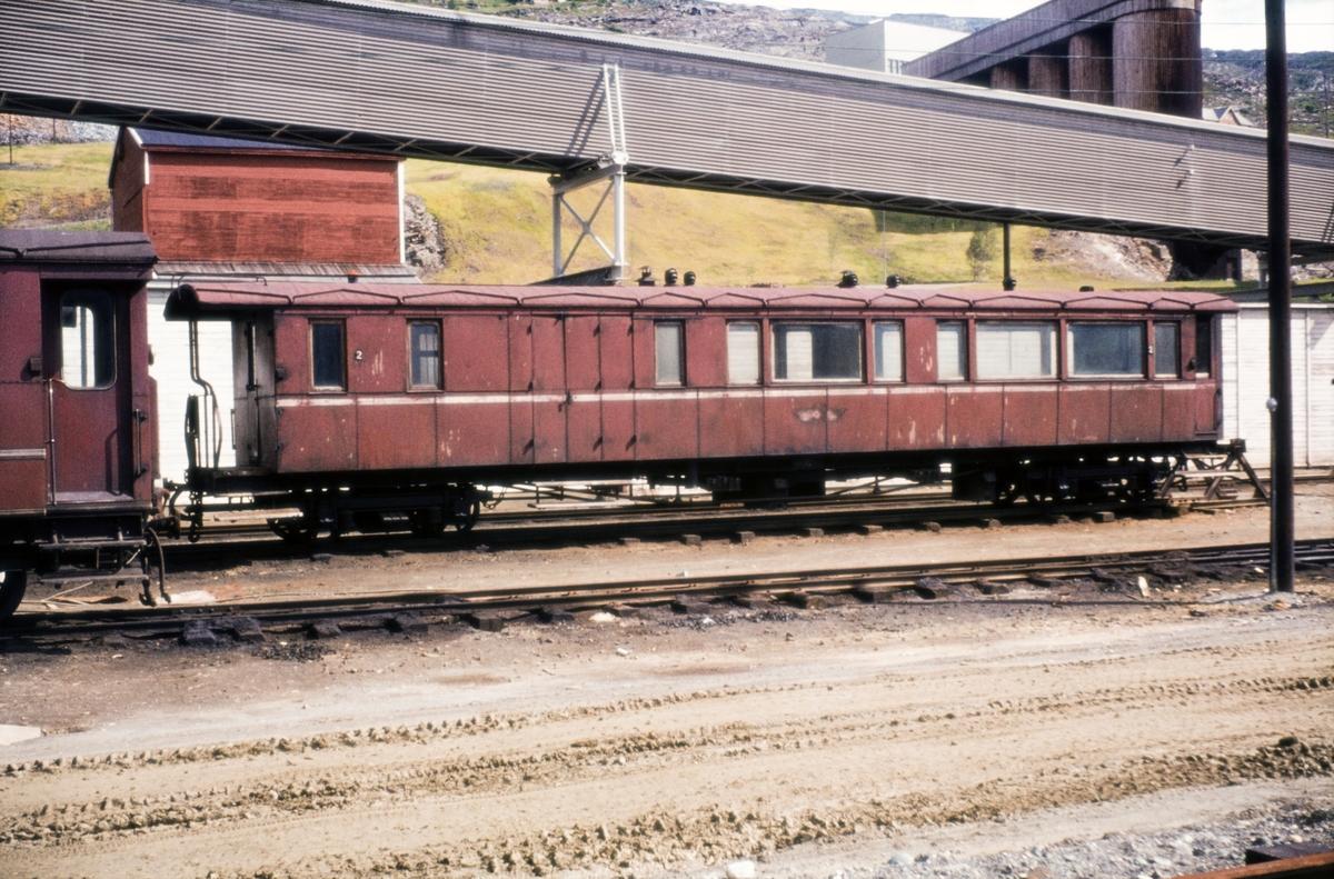 Sulitjelmabanens personvogn BFo nr. 2.