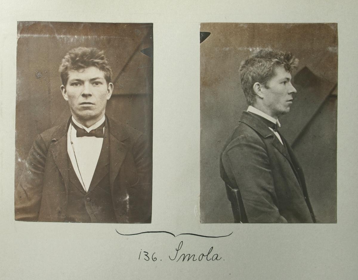 Kristianiapolitiets fotoregister over mistenkte anarkister utenfor Norge, Sverige og Danmark