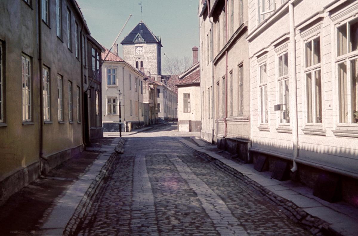 St. Jørgensveita med Vår Frue kirke i bakgrunnen