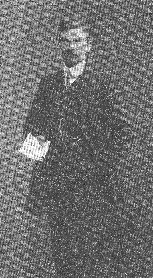 F. riksdagsman H E Nordström, Torsby, som ung agitator för socialdemokratin.