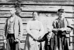 Fr v: Olof Henriksson, Marit Henriksdotter, Henrik Henriksso