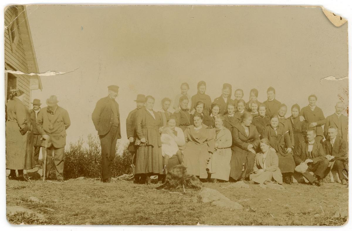 "Postkort: ""Kretsmøte i Tuberkulose forening, Nyborg 1923""."