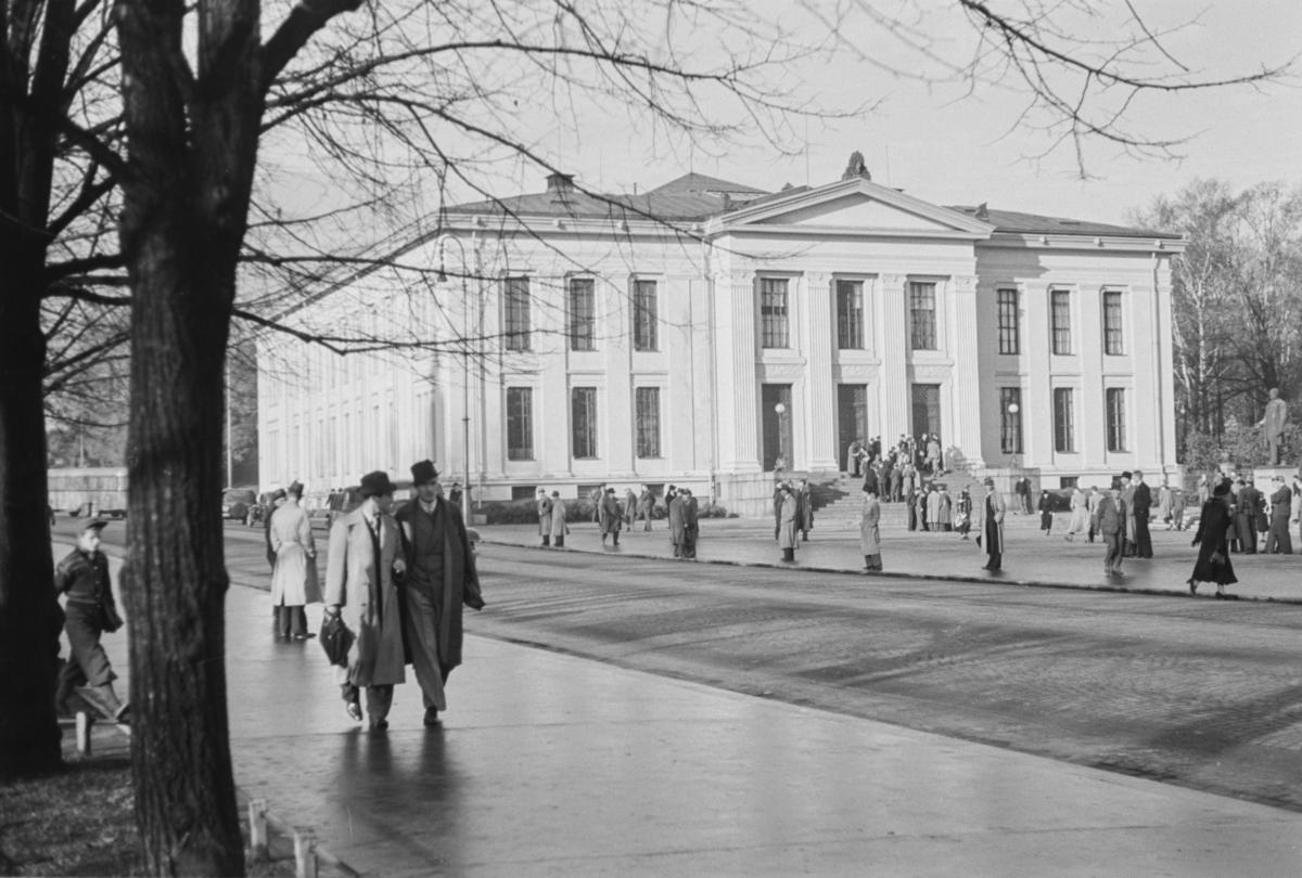 Universitetet i Oslo august 1939