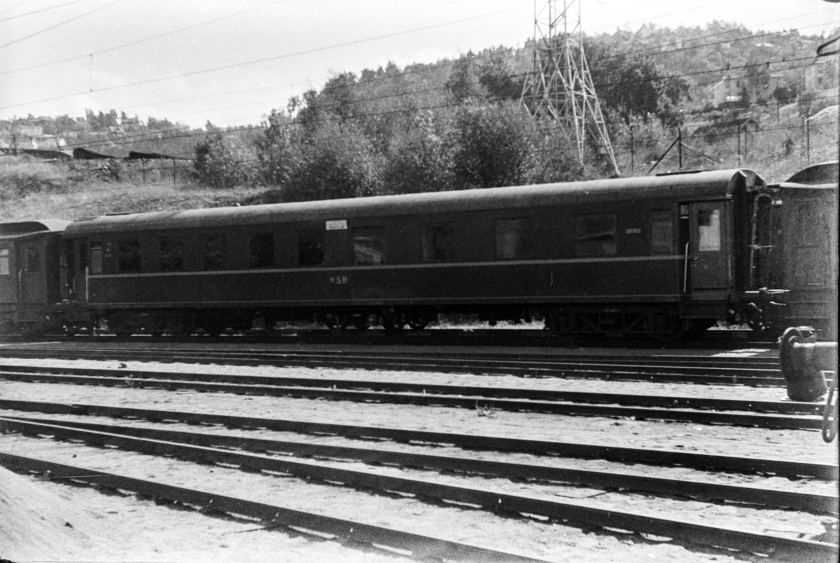 Personvogn litra ABo2c type 1 nr. 19062 i Lodalen i Oslo.