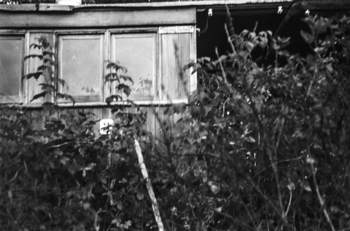 Vognkasse fra Nesttun-Osbanen. Vognen er bygget av Oldbury i England.