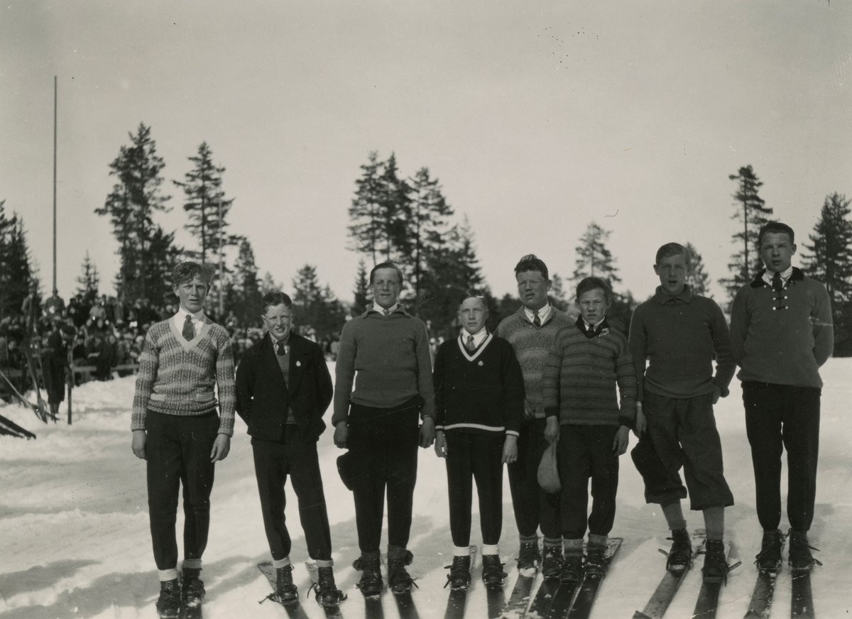Athletes from Kongsberg and others