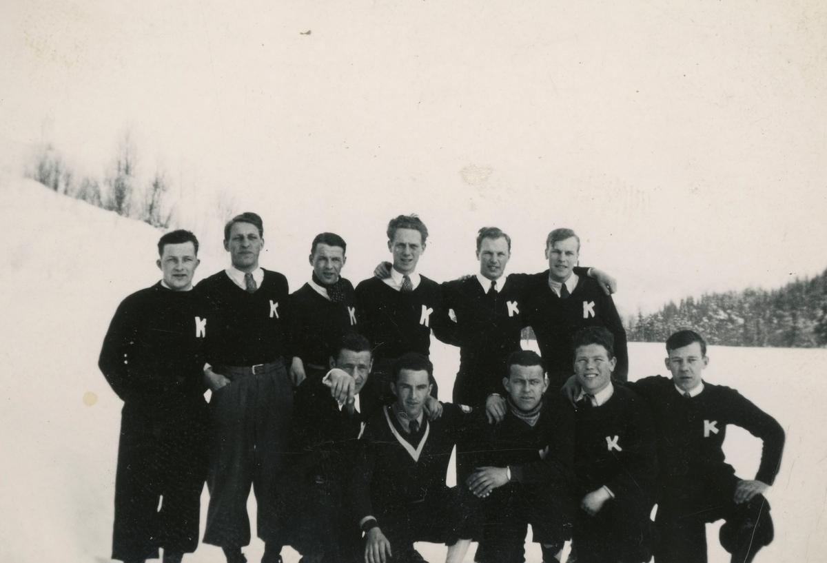 Ski athletes from Kongsberg