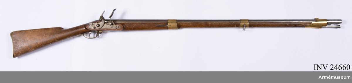 Grupp E II b. Gevär m/1815, reparationsmodell.