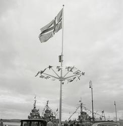 Fra feiringen av Oslo bys 900-års jubileum, mai 1950.