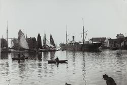 Smedasundet sett mot nordvest, ca. 1908.