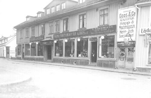 Pokalen 5, bostadshus uppfört 1842 av rådman L M Lundberg.