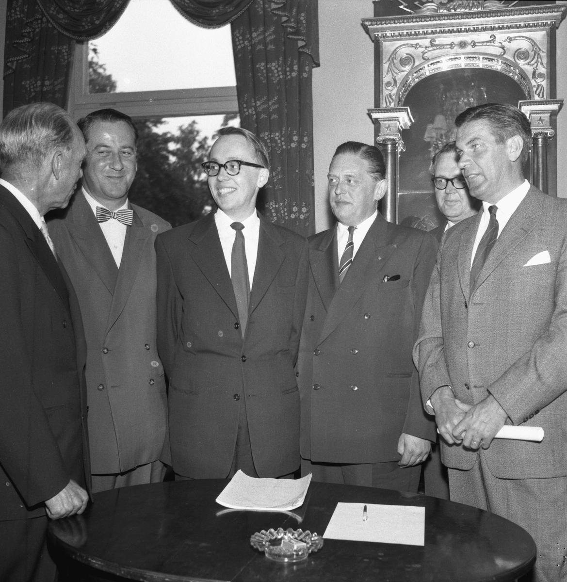 Bilhandlaremöte.  6 juni 1959.