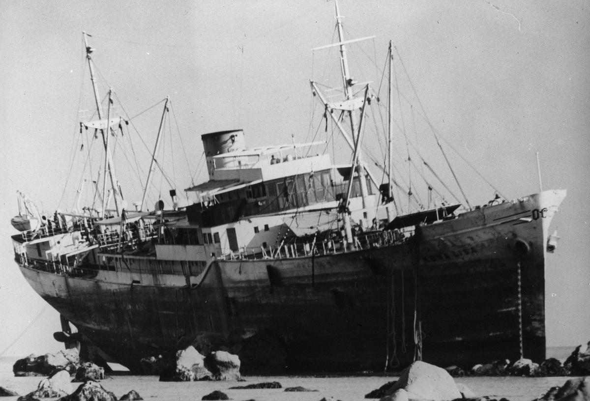 Antageligvis MS MONA LISA (bygget i 1939).