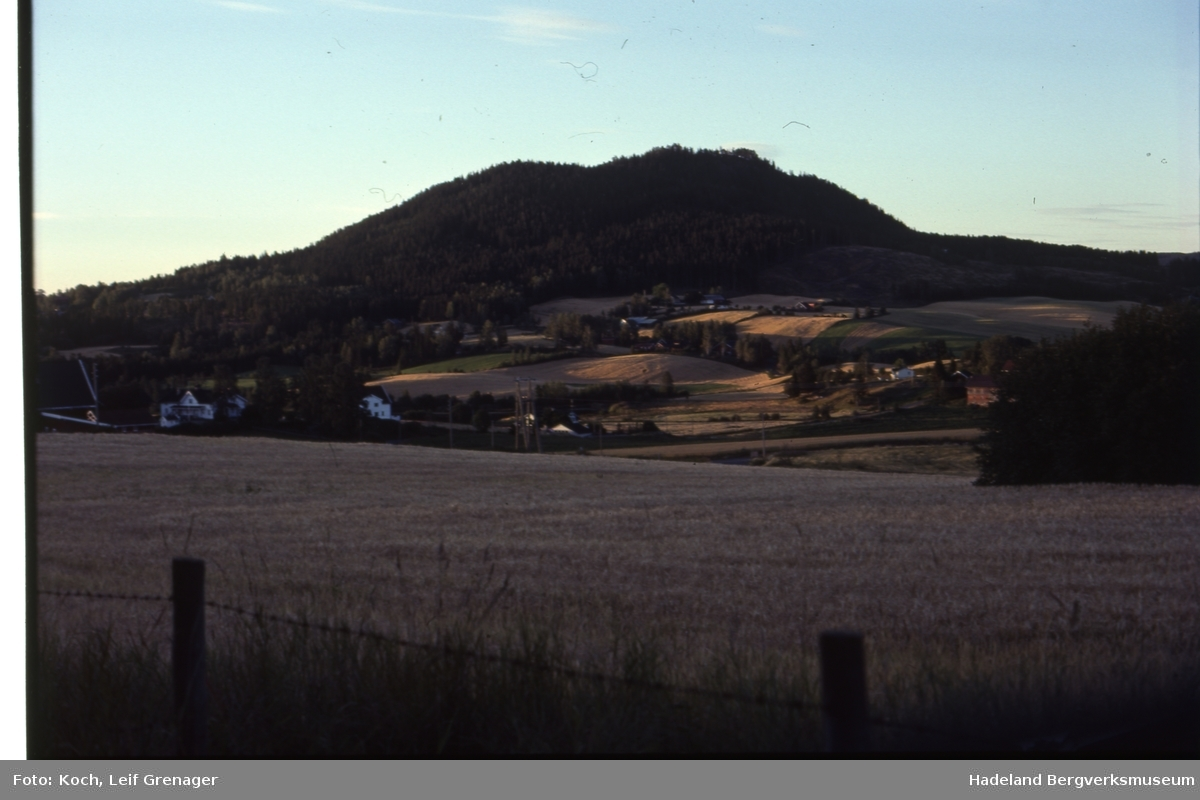 Geologiske lokaliteter og lokaliteter det har vært drevet bergverksdrift på Hadeland