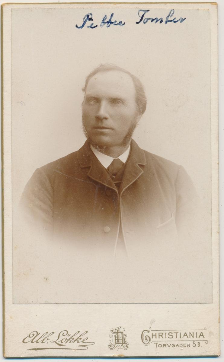 Portrett av Petter Tomter