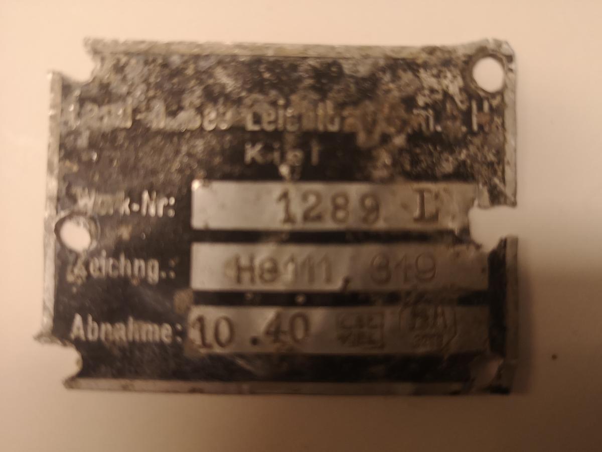 ID-plate i metall