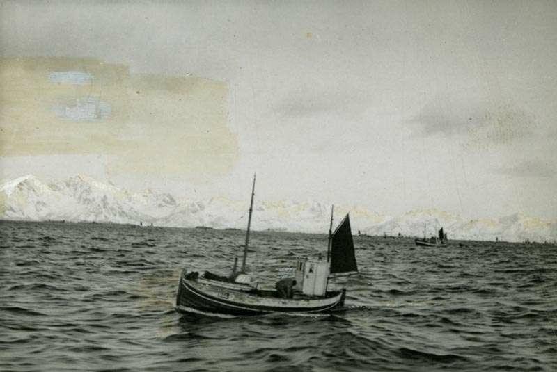 Nordlandsbåt med motor