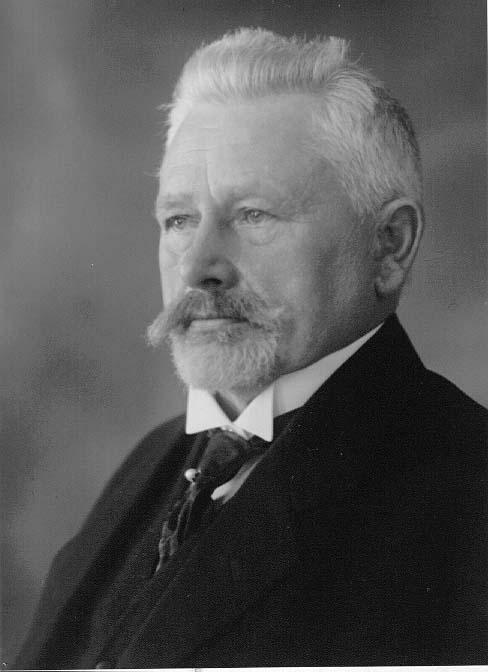 Porträtt av apotekare Ström.