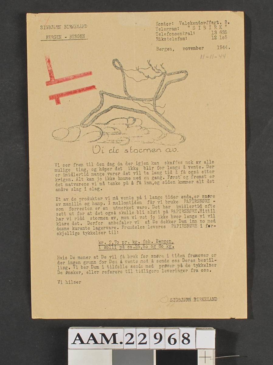 Tegning av et  rensdyr med konturer av papirsnøre, To røde vinkler stemplet utv., tallet 74 utv. med rød blyant. To røde vinkler, tallet 74