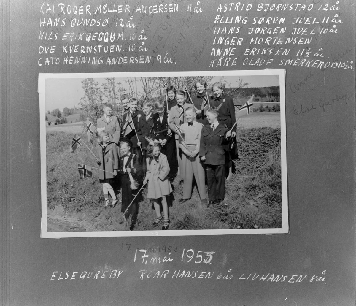 17. mai 1953. (Gruppebilde).