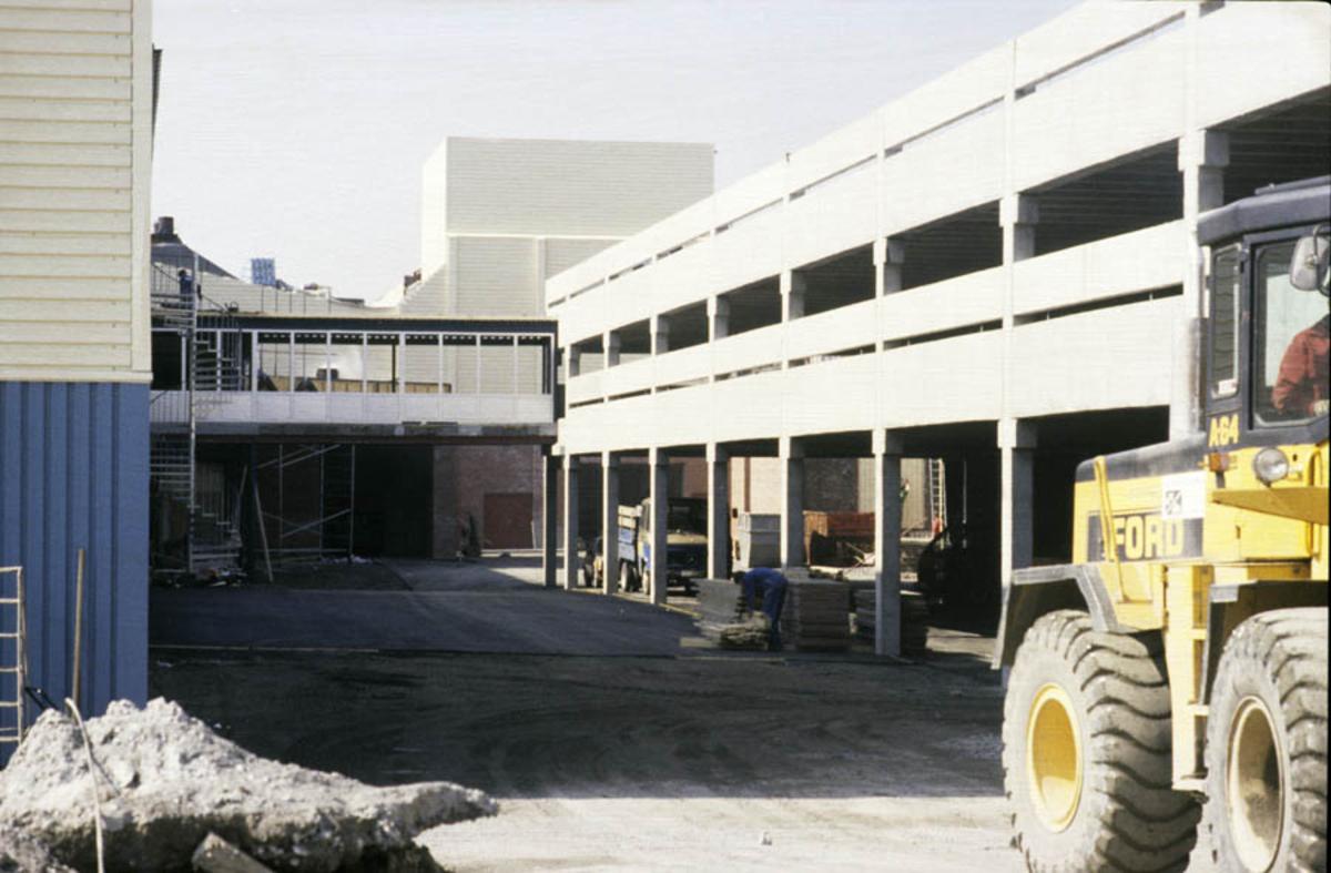 Parkeringshuset til Strømmen Storsenter