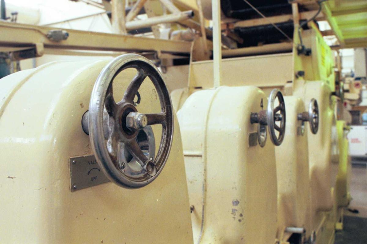 Deigvalser, maskiner, fabrikkmiljø