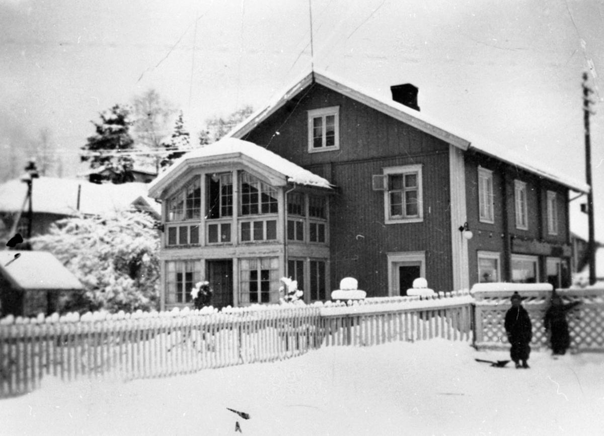 Eksteriør, Stampen, Torgerhagen sportforretning, Brumunddal, Ringsaker.L