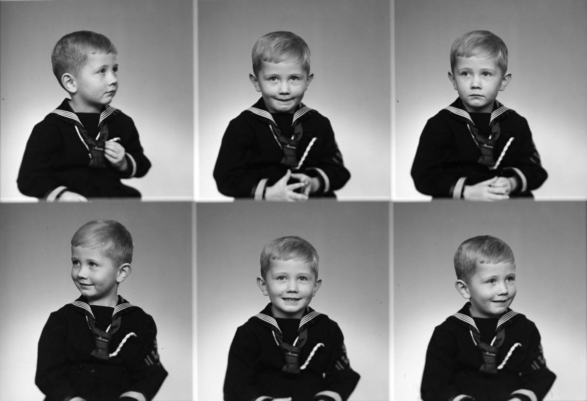 BRATSETH KIRSTEN, GUTT. Bilde er tatt 3/12-1954. Ola Bratseth, 3 1/2 år.